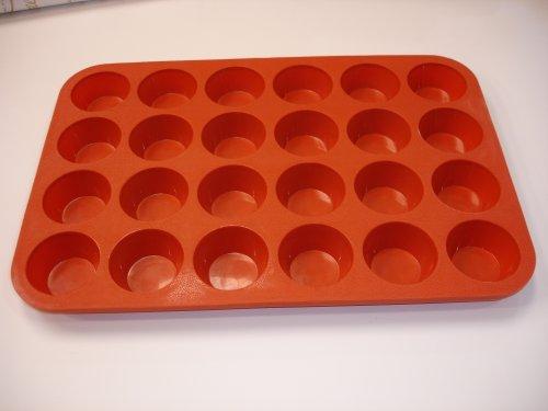 24 Cup Premium Silicone Mini Muffin Pan