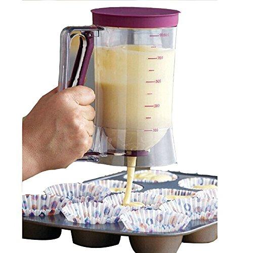 AGPtek 900ml 4-cup CupCake Batter Dispenser