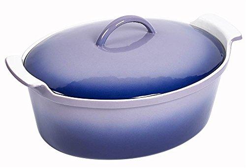 6-Quart Oval Dutch Oven in Blue