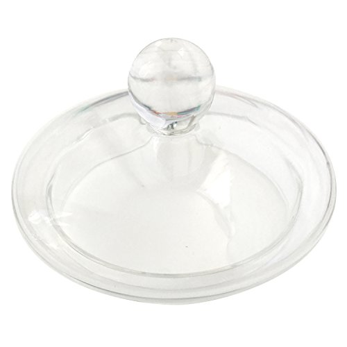 Teabloom Universal Replacement Glass Teapot Lid for Celebration Teapot and Many Other 34-40 oz Teapots with Diameters Between 70 cm and 75 cm 275 inches and 295 inches - Spare Part