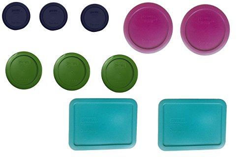 Pyrex Simply Store Storage Set Replacement lids for 20-piece set 10 lids