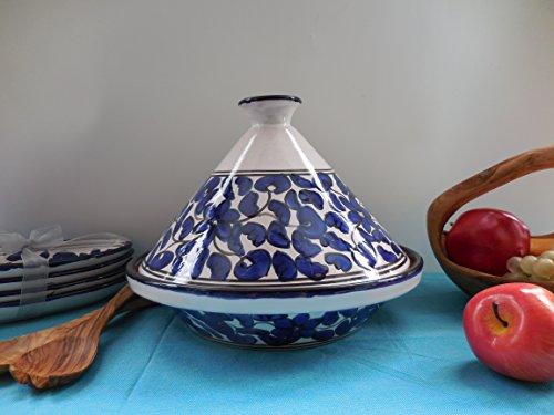 Cookable Tagine 12-Inch Floral Design