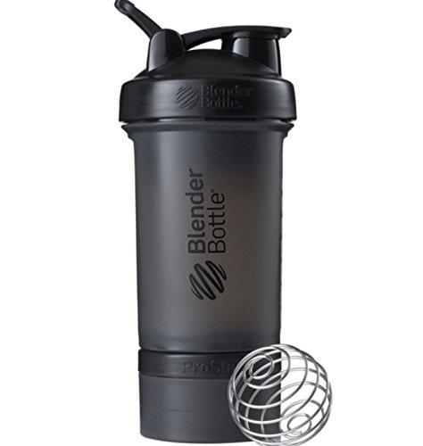 ProStak 22 oz BlenderBottle Full Color 2 Jar 100cc  150cc BLACK COLOR