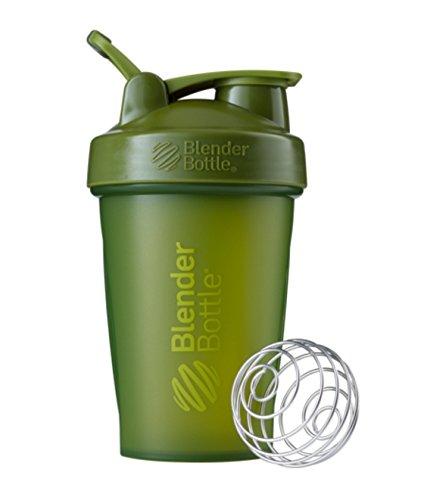 New lender Bottle Classic 20 Oz wLoop Full Color by SUNDESA BLENDER BOTTLE - MOSS GREEN COLORS
