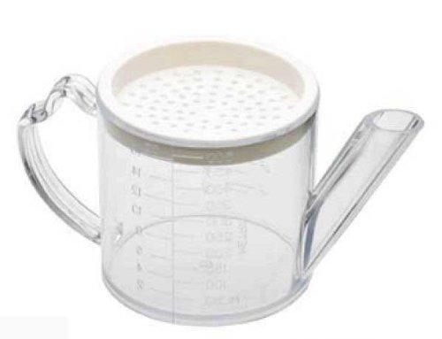 Kitchencookshop Plastic Gravy Separator With Strainer 0601