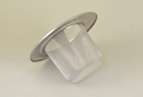 Tea Mug Basket Strainer-plain Rim 18/8 Stainless Steel