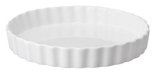 Hic Round Quiche Dish, 9.5 By 1.5-inch,white