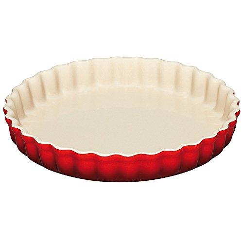 Le Creuset Stoneware 1.45-quart Tart Dish, Cherry