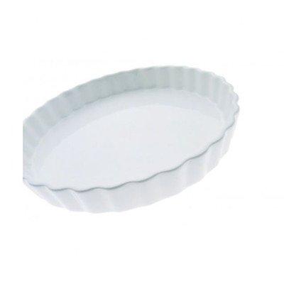 Maxwell And Williams Aa05017 Basics Quiche Dish, 11-inch, White