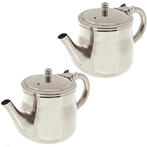 Update International GNS-10 10oz Gooseneck Teapots Pack of 2