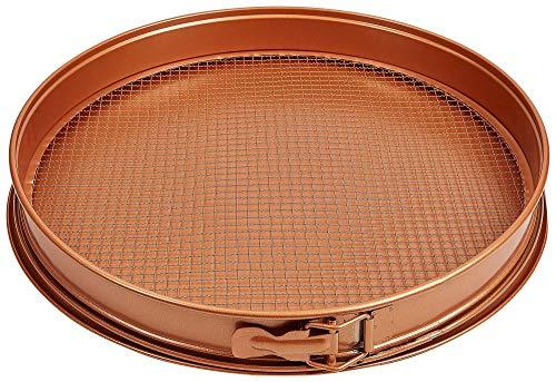 TRISTAR PRODUCTS CCPP-12 3 Piece Copper Chef pizzacrisper pan
