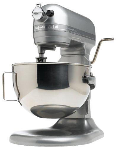 KitchenAid KV25GOXMC Professional 5 Plus 5-Quart Stand Mixer Metallic Chrome Discontinued