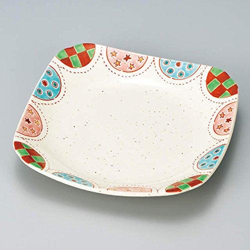 Japanese Ceramic Porcelain kutani ware Serving dish Salada plate Galaxy Japanese ceramic Hagiyakiya 202