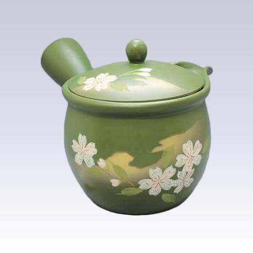 Tokyo Matcha Selection - Tokoname Kyusu teapot - Akira - Sakura - 550ccml - Cup ami Stainless Steel net Standard Ship by SAL NO Tracking Number Insurance