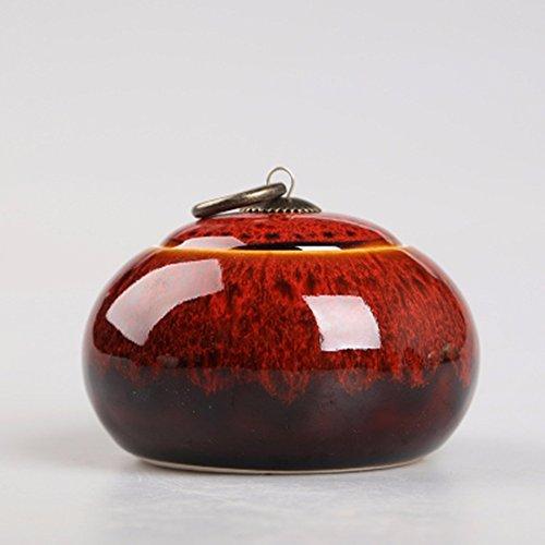 Chinese Ceramic tea caddy tins Tea set Tea service Canister Teapot box sealed jar fashion celadon red