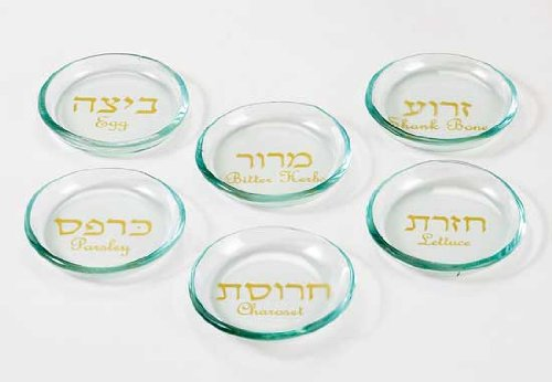 Little Glass Bowls for Passover Seder Plate