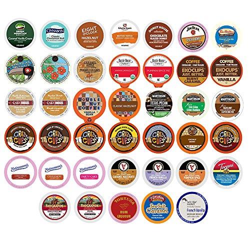 Flavored Coffee Single Serve Cups For Keurig K cup Brewers Variety Pack Sampler 40 count Version 1