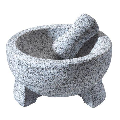Vasconia 4-cup Granite Molcajete Mortar And Pestle