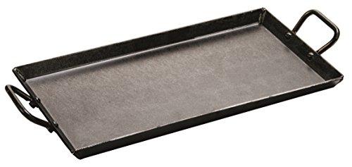 Lodge CRSGR18 Carbon Steel Griddle Pre-Seasoned 18-inch