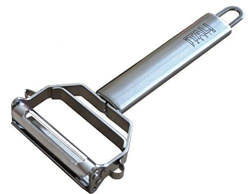 ★ Halloween Sale ★ Itali Passio® - Deluxe Stainless Steel Dual Julienne Peeler & Vegetable Peeler