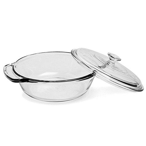 Anchor Hocking 81932OBL11 2 quart Glass Casserole Dish Clear