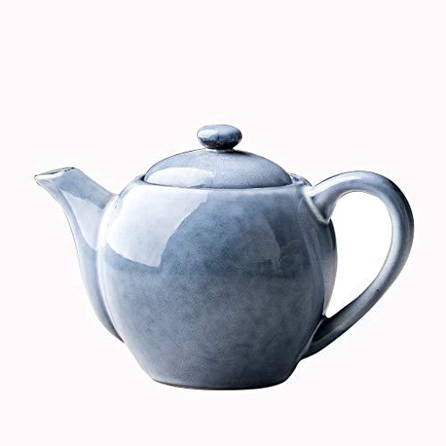 FYJK Enamel Tea Kettle-Enamel Kettle Thickening Whistle Ball Called Pot Kettle Gas Teapot Traditional Enamel Thick Enamel Pot National Milk Teapot Tea Kettle