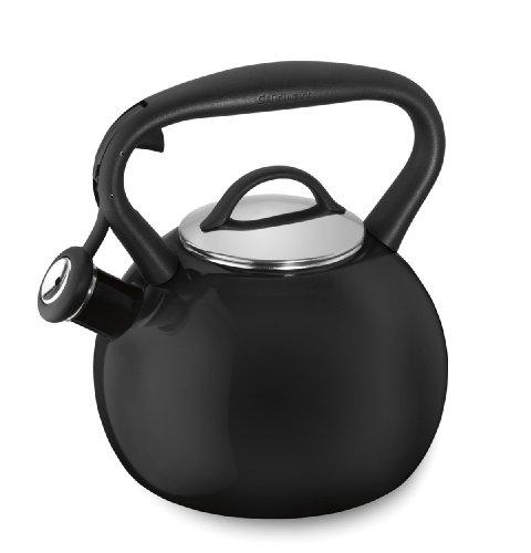 Cuisinart CTK-EOSTRBK Valor Porcelain Enamel on Steel Tea Kettle Black