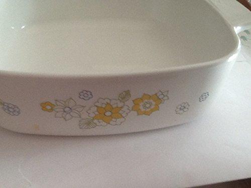 Vintage Corning Ware Floral Bouquet 1 Quart Casserole Dish A-1-B Corning Ware Small Casserole