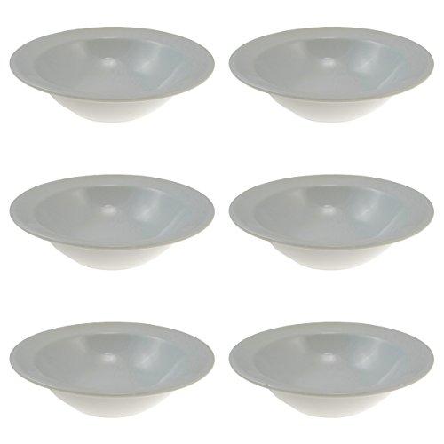 6 Oneida 8oz Grapefruit Bowls R448-0000-720 Wholesale Bulk Lot Porcelain Dishes