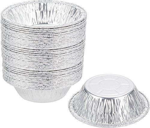 Paksh Novelty 5 Disposable Aluminum Foil Mini Pie Pans 50 Pack Small Tart Pans 5 x  sc 1 st  Kitchen Little Helpers & Best Pie Pan out of top 16