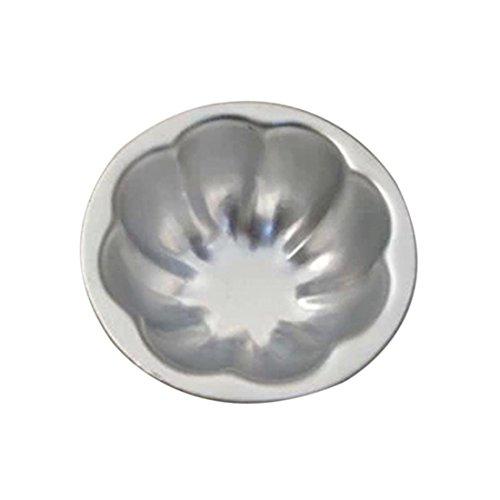 DUFUSTORE 1pcs Aluminum Flower Cake Muffin Chocolate Cupcake Bakeware Pan Mold Tool