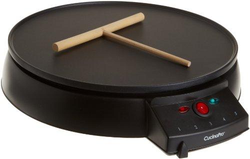 Cucinapro 1448 12 Inch Griddle & Crepe Maker
