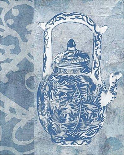 Chinese Teapot II Poster Print by Naomi McCavitt 18 x 22
