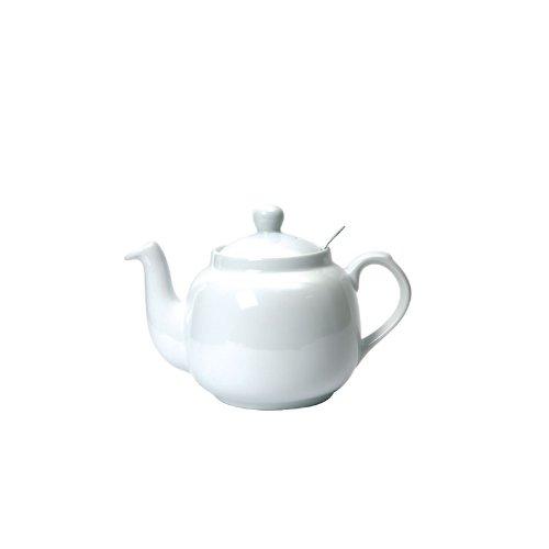 Farmhouse Filter Teapot - White 6 Cup