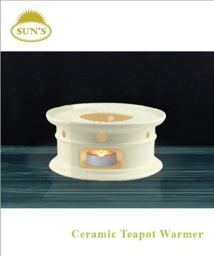 Suns Tea Tm Super White Ceramic Teapot Warmer White