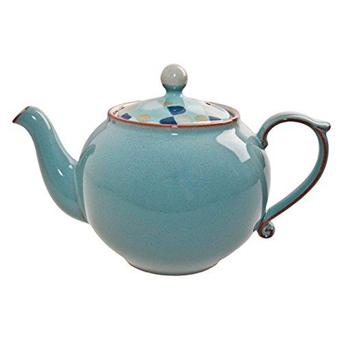 Denby Heritage Pavilion Teapot Blue