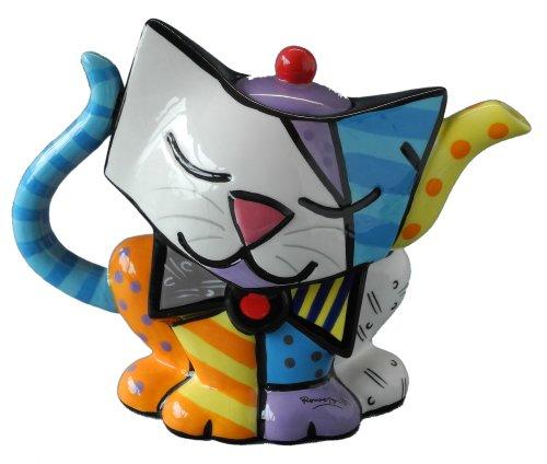 Romero Britto - Teapot Cat Teapot