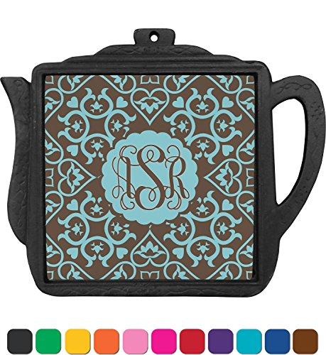 Floral Teapot Trivet Personalized