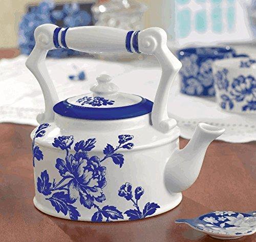 Grasslands Road In The Blue Floral Teapot 41137