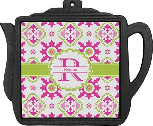 Suzani Floral Teapot Trivet Personalized