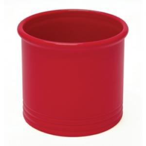 Chantal Utensil Crock-glossy True Red