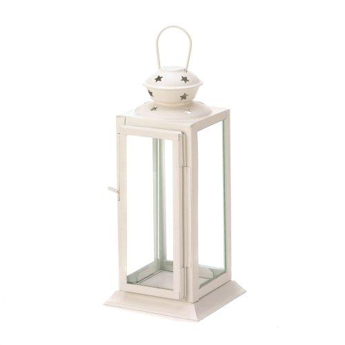 VERDUGO GIFT Starlight Candle Lantern White