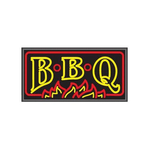 BBQ Lightbox Sign