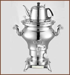 Electric Stainless Steel Samovar Tea Maker