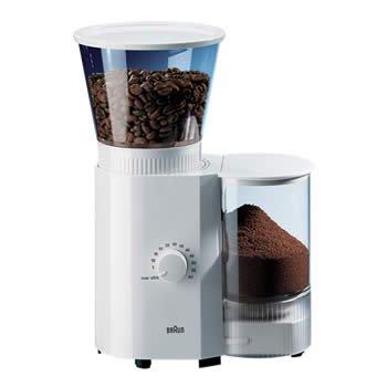 Braun CoffeeEspresso Mill Black