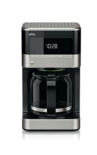 Braun KF7150BK Brew Sense Drip Coffee Maker Black Renewed
