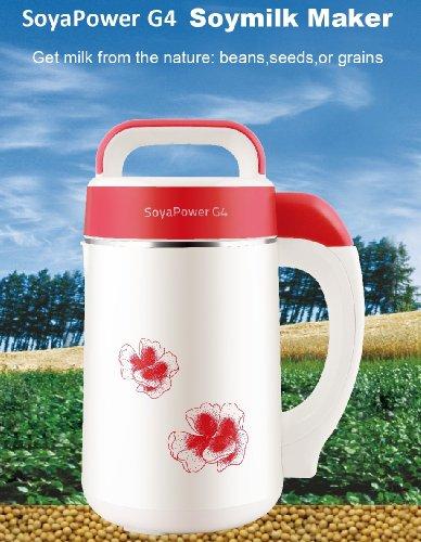 Soyapower G4 Soy Milk Maker, Almond Maker, Rice Milk Maker, Quinoa Milk Maker, And Soup Maker - New Model All