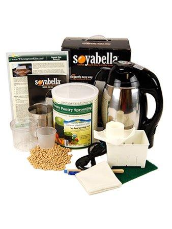 Soymilk & Tofu Making Kit: Includes 5 Lbs. Organic Yellow Soybeans, Tofu Maker & Soyabella Soy Milk Machine
