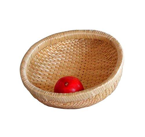 Wicker BasketsDustpan Handmade Basket Embankment Baskets-Round