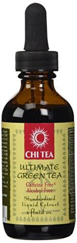 Chi Tea Ultimate Green Tea Liquid Extract Chi Tea 2 oz Liquid